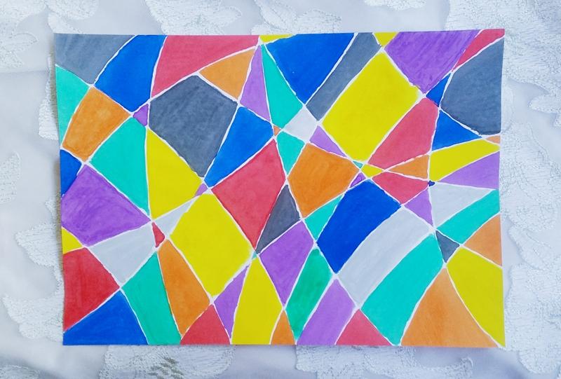 cubism art step 03