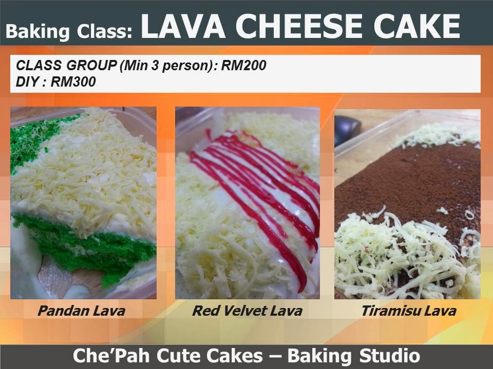 LAVA CHEESE CAKE