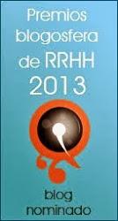 Nominado Mejor Blog RRHH 2013