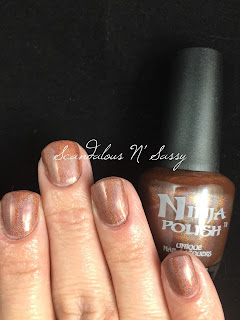 Ninja Polish Pretty Brown Nipple