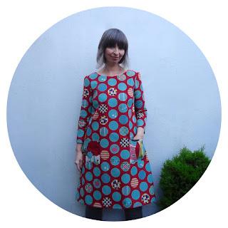 Esme dress in Avant Garden Dot Spot by Ivy Arch