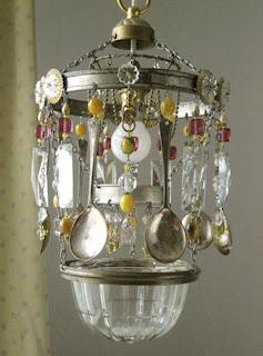 Velvet puff february 2012 for How to make your own chandelier