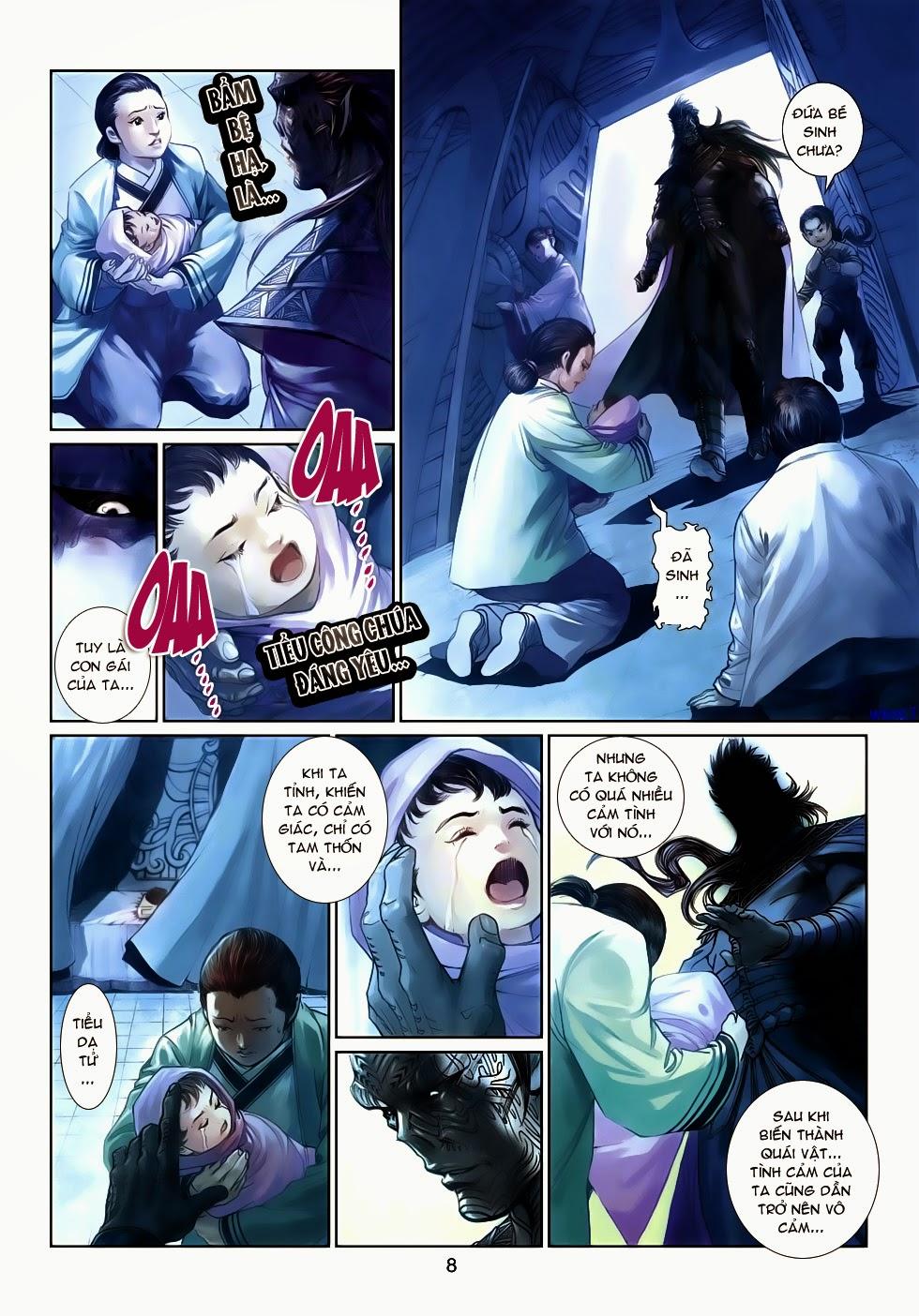 Thần Binh Tiền Truyện 4 - Huyền Thiên Tà Đế chap 14 - Trang 8