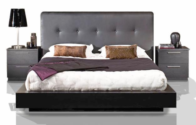 Cabeceras para camas elegant ideas de cmo hacer un for Muebles minimalistas recamaras
