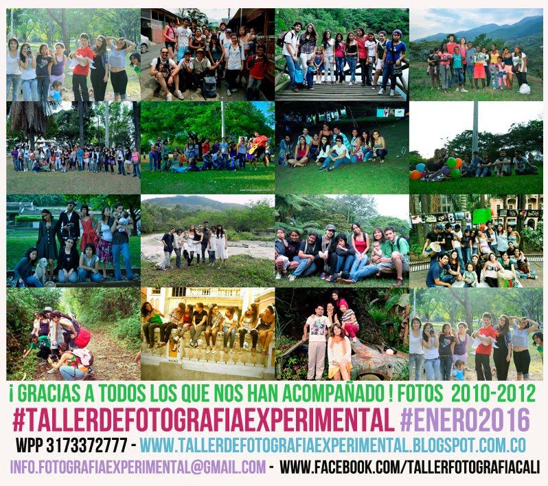 Detrás del Taller de Fotografía Experimental 2010-2012