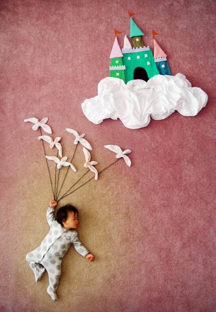 Creative Mother Turns Naptime Into Magical Dream Adventures