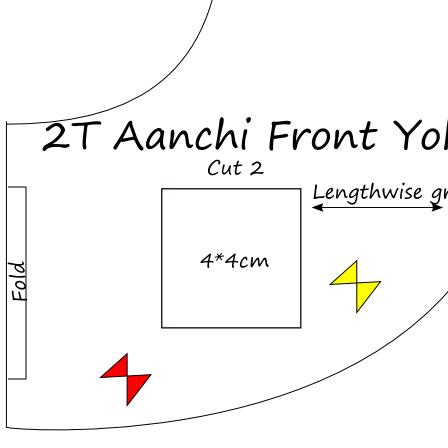 download aanchi Nightie free pattern tutorial