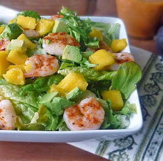 Mango Avocado Shrimp Salad Recipe