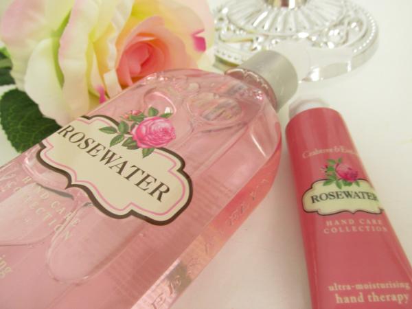 Crabtree & Evelyn Rosewater - Hand Wash & Hand Cream Erfahrungen, Review, Testbericht