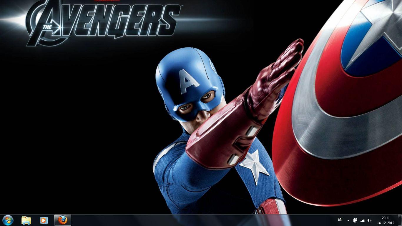 The avengers windows 7 theme 3 the avengers windows 7