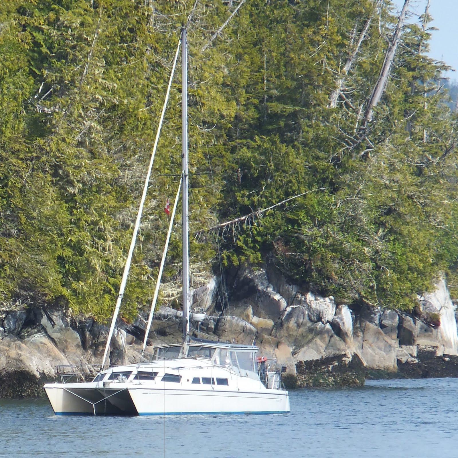 Kyrie at anchor