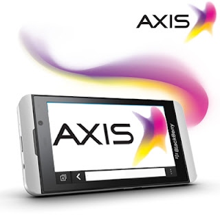 Paket Internet Axis for BlackBerry 10