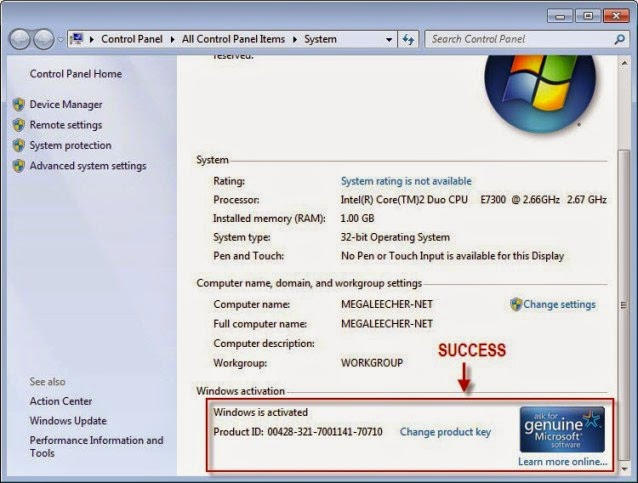 how to find windows 7 product key free