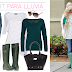 Outfit para lluvia y Luxury Outlet
