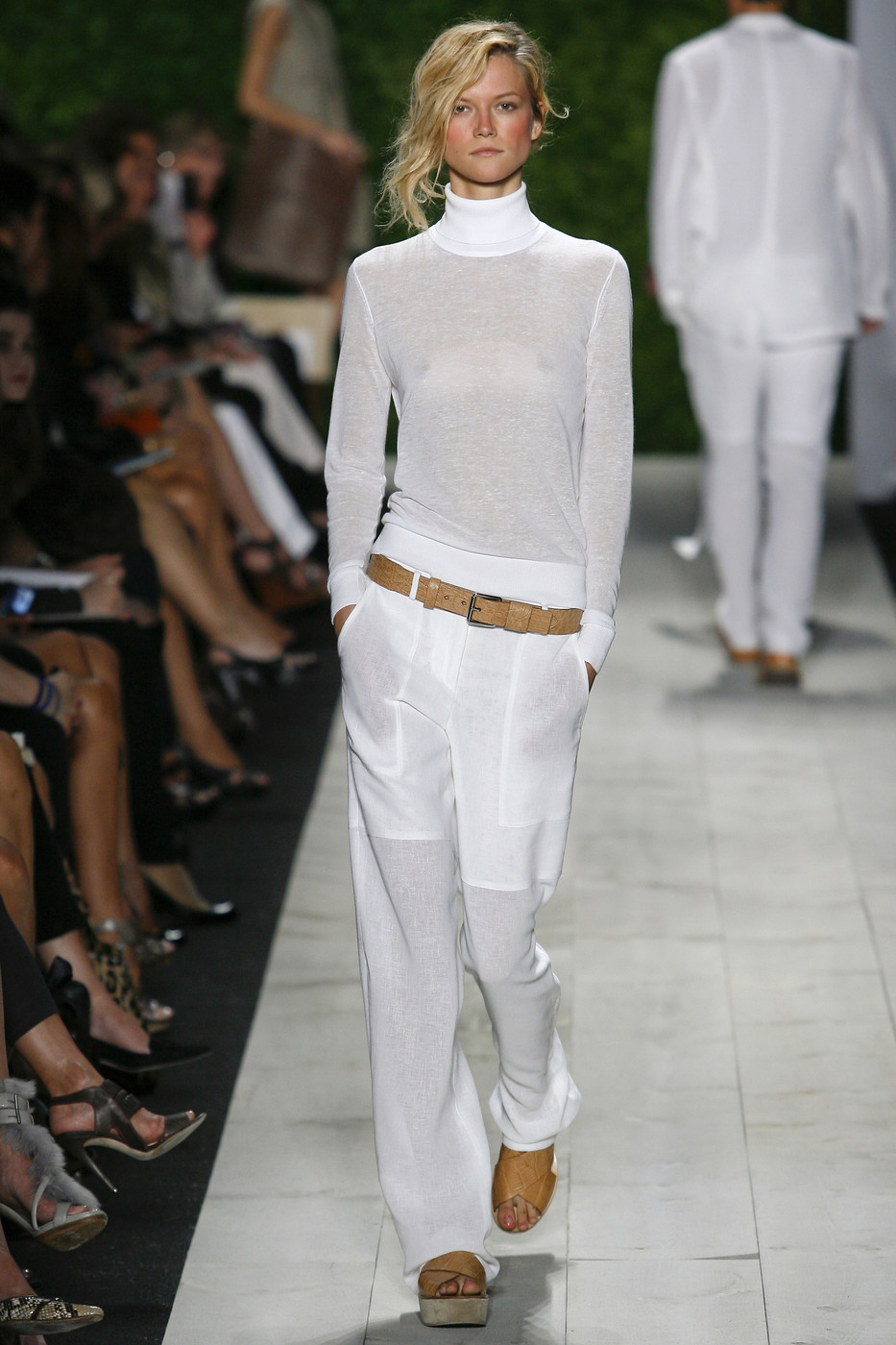 via fashioned by love | Michael Kors Spring/Summer 2011 White