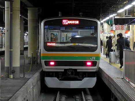 通勤快速 高崎・両毛線 E231系