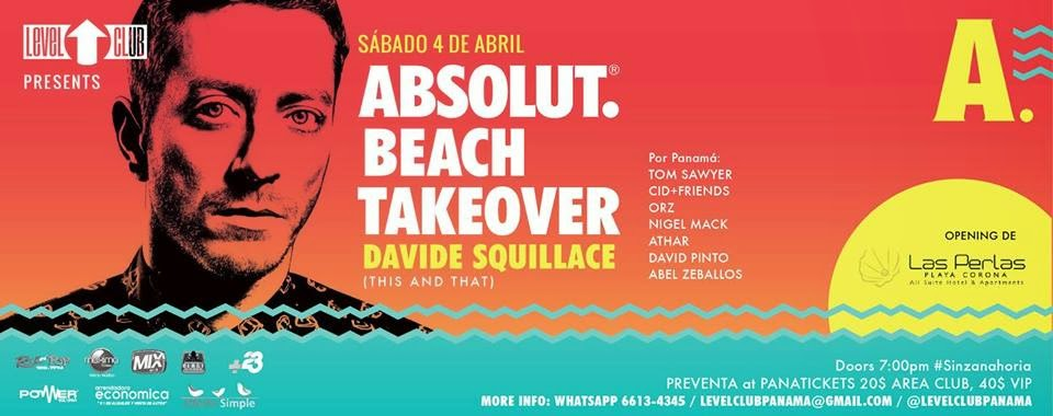 Absolut Beach Takeover