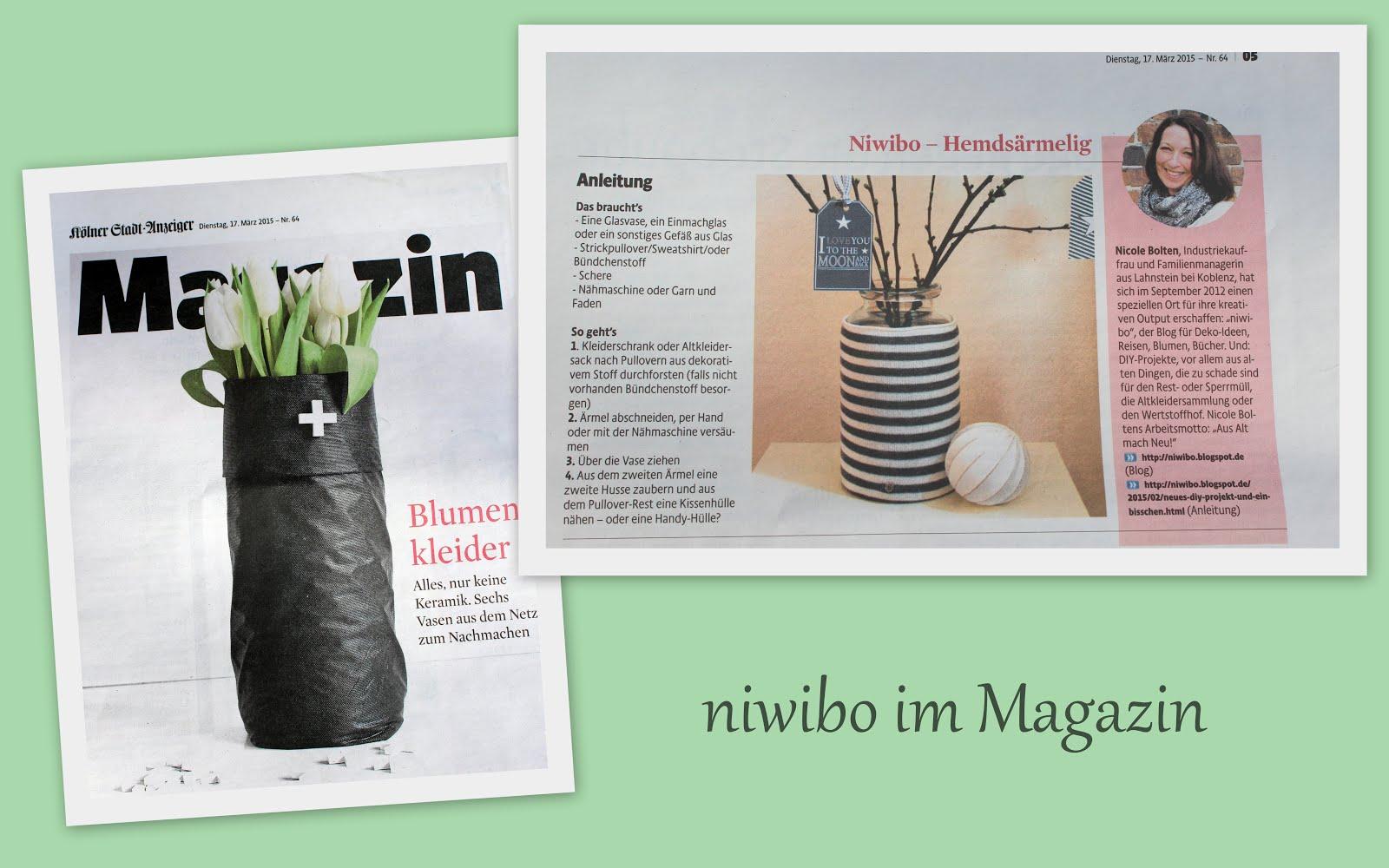 niwibo im Magazin