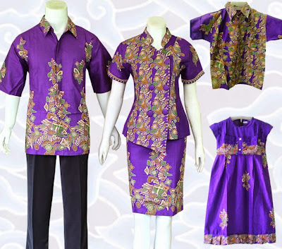 batik couple untuk baju lebaran 2015 pasangan
