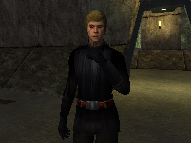 Star Wars Jedi Academy Luke Skywalker