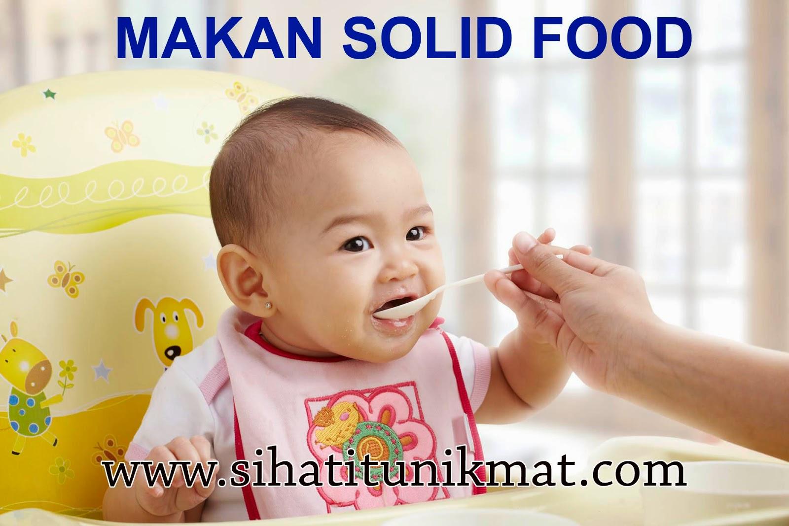 makanan pejal bayi