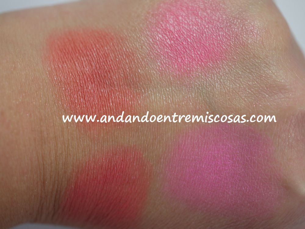 Paleta All About Cream De Makeup Revolution, swatches