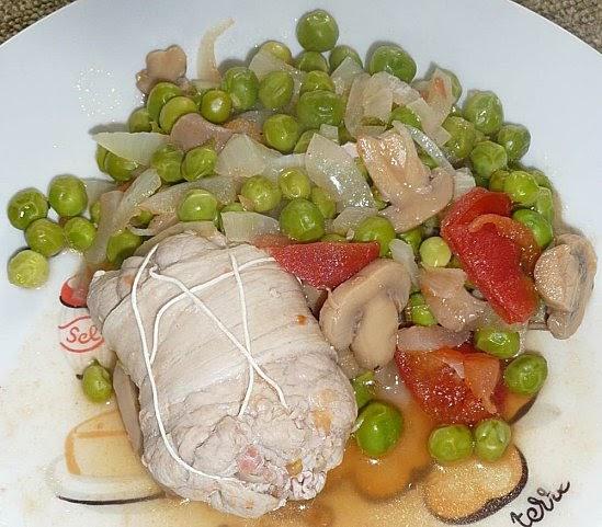 Cc cuisine paupiettes de veau et jardini re de l gumes - Cuisine paupiette de veau ...