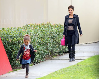 Halle Berry daughter Nahla Aubry
