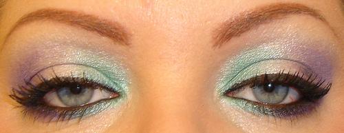 Three Shades Of Eyeshadow