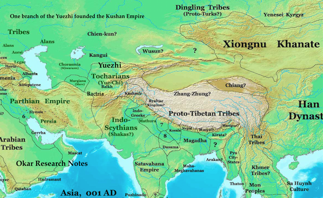 """kushan dynasty The apparent importance of the kushan empire in the indian history is now   been """"a son of the founder (kujula kadphises) of the kushan dynasty"""" has been."""