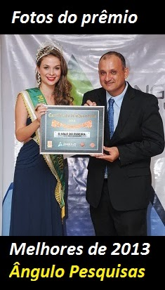 Fotos da premiação da Ângulo Pesquisas