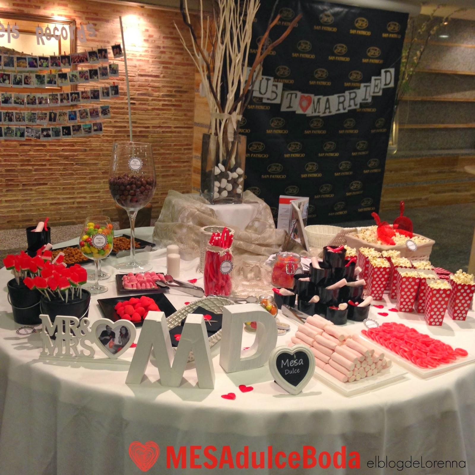 El blog de lorenna mesa dulce para una boda for Mesa de dulces para boda