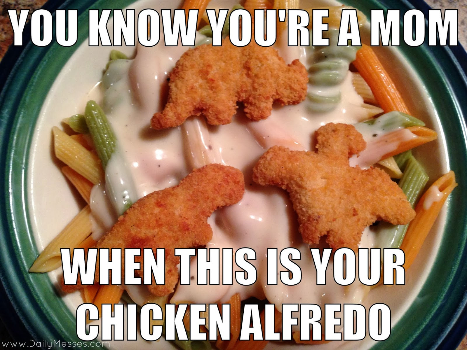 Chicken Balfredo Bmeme