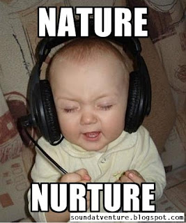 Nature vs Nurture baby