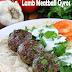 Lamb Meatball Gyros