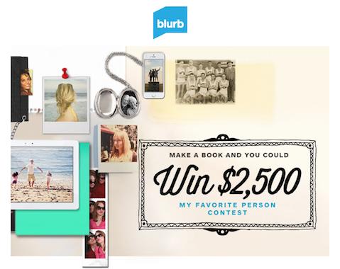 Blurb's My Favorite Person Contest
