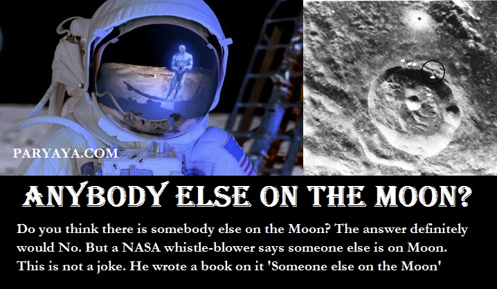someone else is on the moon