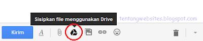 Melampirkan file dari Goole Drive