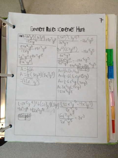Complex numbers review worksheet answers