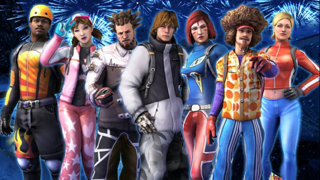 ssx characters Gallery