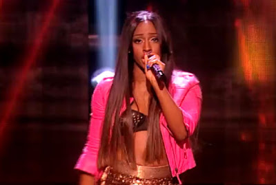 alexandra burke, the voice