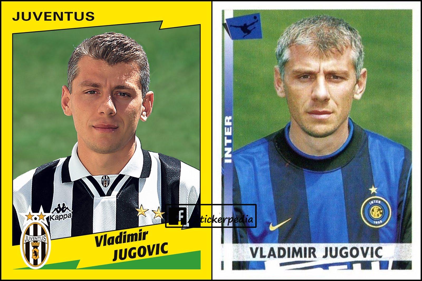68 JUVENTUS -New EUROPEAN FOOTBALL STARS JUGOVIC Figurina-Sticker n