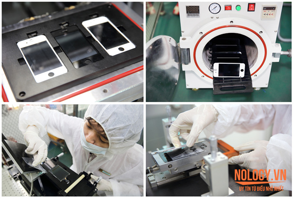 Thay mặt kính Sony xperia m2 bằng công nghệ tự động ép chân không