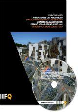 """Carátula del DVD: """"Enric Miralles. Miralles Tagliabue EMBT: Estado de las obras, julio 2002"""""""