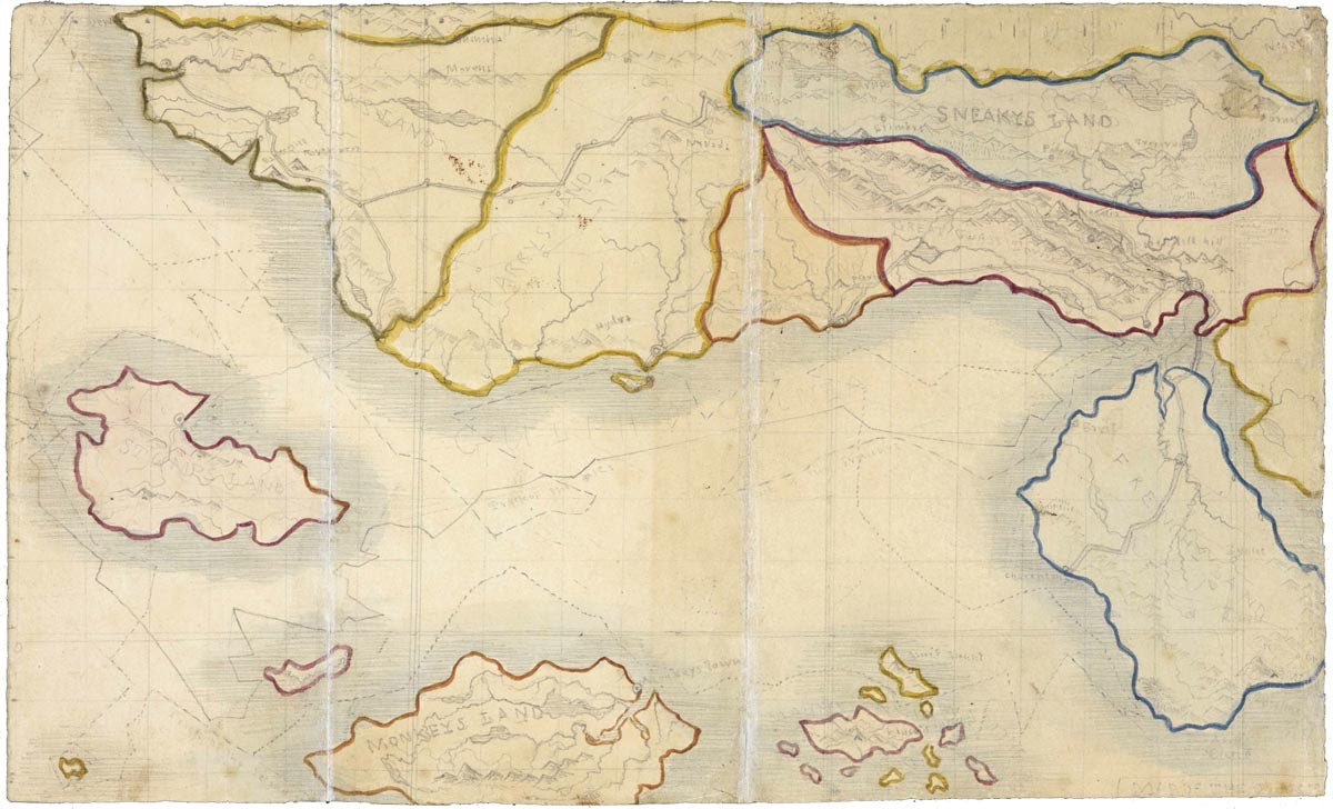 Bronte map
