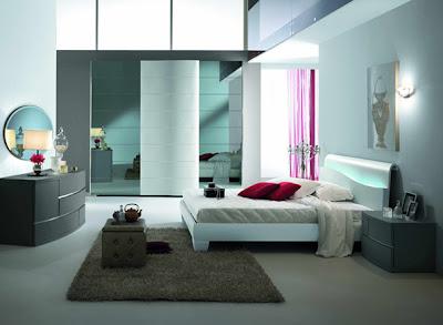 habitación  moderna elegante