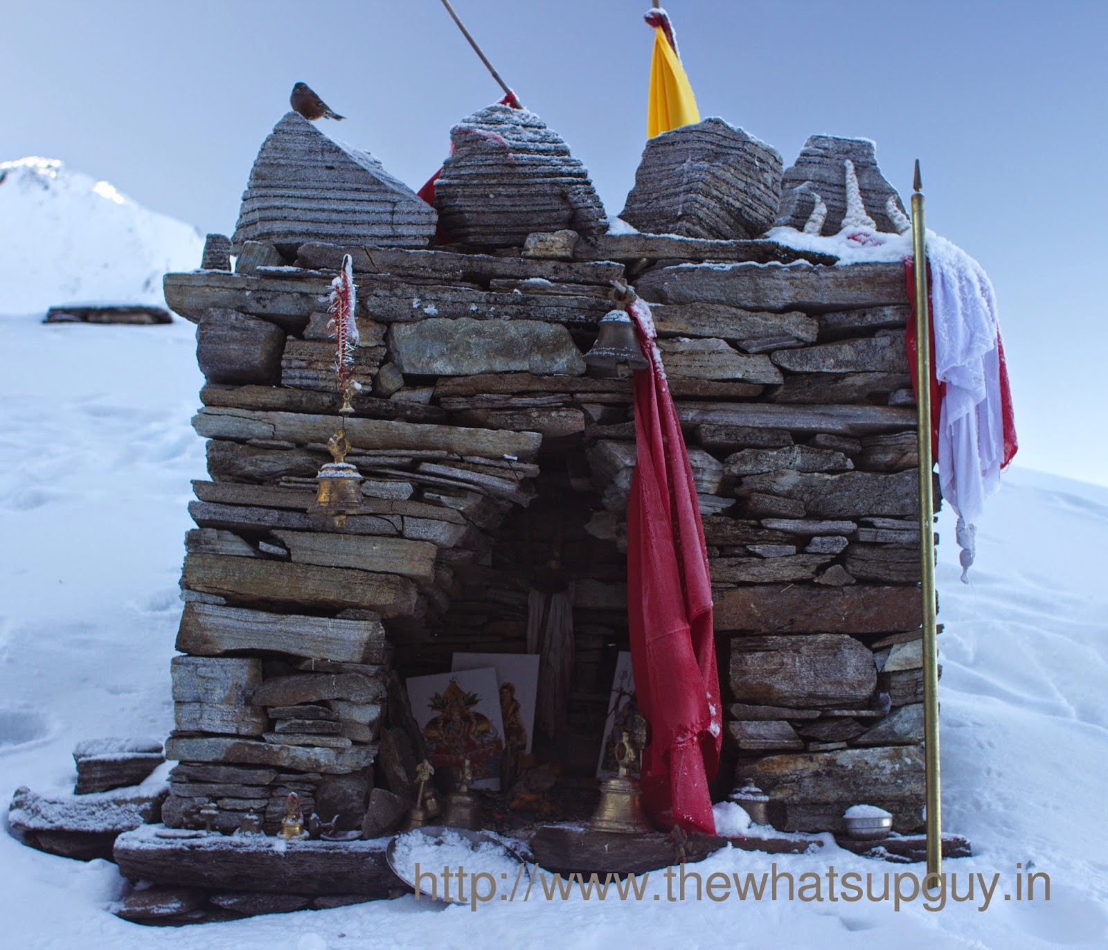 Temple Roopkund Trek With India Hikes Day 5