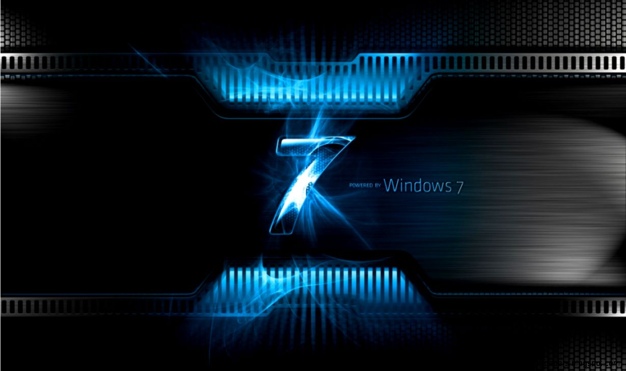 Windows 7 Power background in 1366x768 resolution  HD