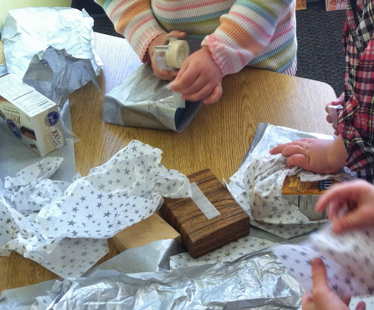 Gift Wrapping (Brick by Brick)