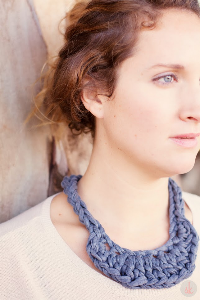 SusiMiu | Patrón de Collar de Ganchillo XXL (dos modelos)